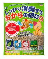 Растительный наполнитель для кошачьих туалетов на основе японского чая