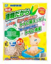Растительный наполнитель для кошачьих туалетов с луговыми травами