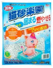 Целлюлозно-полимерный наполнитель для кошачьих туалетов