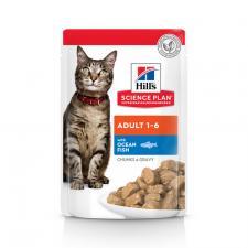 Влажный корм для кошек Hill's Science Plan™ Feline Adult с океанической рыбой
