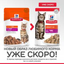 Влажный корм для кошек Hill's Science Plan с говядиной