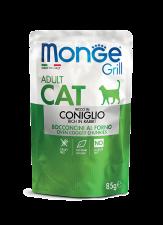 Корм для кошек Monge Cat Grill Итальянский Кролик 85 г.
