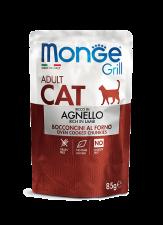 Корм для кошек Monge Cat Grill Новозеландский Ягненок 85 г.