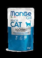 Корм для кошек Monge Cat Grill Эквадорская Макрель 85 г.