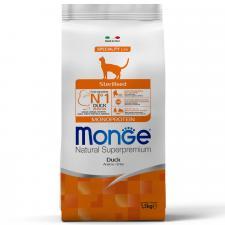 Monge Cat Monoprotein Sterilised Duck (утка), 1,5 кг