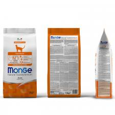 Корм для стерилизованных кошек Monge Cat Monoprotein Sterilised Duck (утка), 1,5 кг