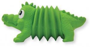 """Игрушка для собак ОН Accordionz """"Крокодил"""" латекс с пищалкой"""