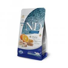 Корм для кошек Farmina N&D треска с апельсином низкозерновой 300 гр.