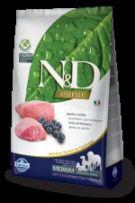 Корм для собак N&D средних и крупных  пород беззерновой ягненок с черникой 2,5 кг