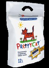 Наполнитель для кошек Pretty cat 12 л. (древесные гранулы)