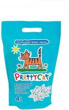 Наполнитель для кошек Pretty cat 2 кг (глиняный впитывающий с део-кристаллами)