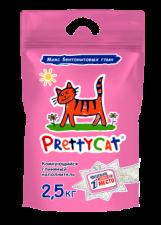 Наполнитель для кошек Pretty cat 2,5 кг (бентонит)