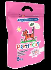 Наполнитель для кошек Pretty cat 5 кг (бентонит с ароматом алоэ)