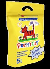 Наполнитель для кошекPretty cat 5 л (бентонит с ароматом лаванды)