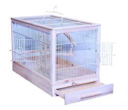 Клетка для птиц Ретро-Кантри деревянная