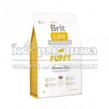 Brit Care Puppy Lamb & Rice для щенков и молодых собак всех пород 3кг