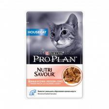 Консервы для домашних кошек Purina Pro Plan, лосось, пауч, 85 г