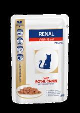Royal Canin Renal с говядиной в соусе
