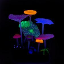 5 грибов и 4 листа лотоса