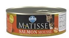 мусс с лососем