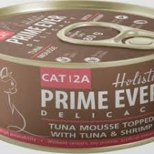 PRIME EVER DELICACY TUNA MOUSSE TOPPED WITH TUNA & SHRIMP