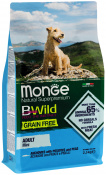 MONGE BWILD DOG ADULT MINI GRAIN FREE