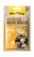 Лакомство для собак GimDog Superfood Meat Balls