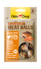 Лакомство GimDog Superfood Meat Balls