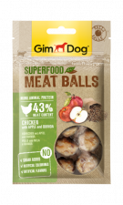 Лакомство GimDog Superfood Meat Balls