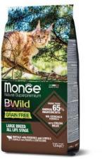 Корм для кошек Monge BWild беззерновой (мясо буйвола)