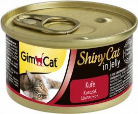 Консервы для кошек GimCat ShinyCat из цыпленка (паштет)