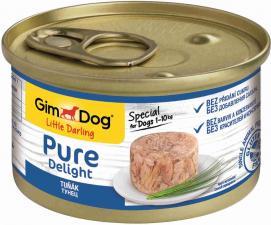 Консервы для собак GimDog Pure Delight из тунца (желе)