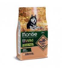 Monge Dog BWild GRAIN FREE лосось