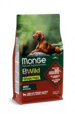 Monge Dog BWild Grain Free ягненок