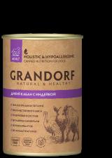 Влажный корм для собак Grandorf (дикий кабан с индейкой)