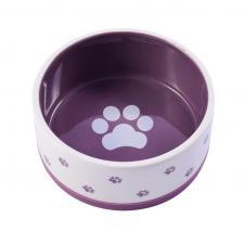 КерамикАрт бело-фиолетовая