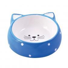 КерамикАрт мордочка кошки голубая