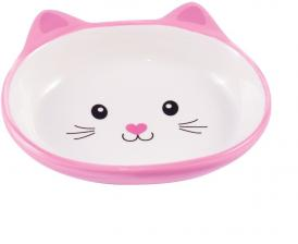 КерамикАрт мордочка кошки розовая