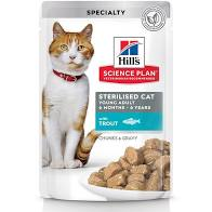 хиллс пауч для стерилизованных кошек