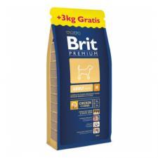 Корм для собак средних пород Brit Premium Adult M, 18 кг (курица)