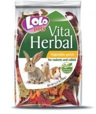 смесь овощей для грызунов и кроликов