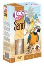 песок для птиц с анисом