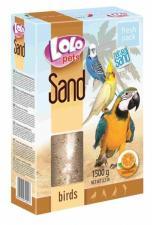 песок для птиц с апельсином