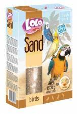 песок для птиц с ракушками
