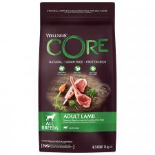 Корм для взрослых собак всех пород Wellness CORE  из ягненка с яблоком  1,8 кг