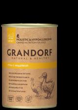 консервы для собак Grandorf (утка с индейкой)