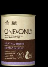 Влажный корм для собак One & Only (буйвол в желе)