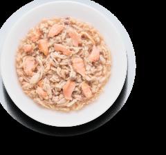 Grandorf (куриная  грудка с лососем)