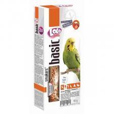 Палочки для волнистых попугаев Lolo Pets с клубникой