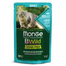 Влажный корм для кошек Monge Cat BWild GRAIN FREE